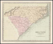 Southeast Map By David Hugh Burr