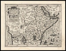 Africa, Africa, East Africa and West Africa Map By Gerard Mercator