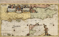 Europe and British Isles Map By Romeyn De Hooghe