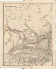 Midwest and Canada Map By John Arrowsmith
