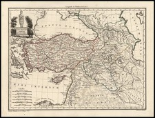 Europe, Russia, Asia, Central Asia & Caucasus, Middle East and Russia in Asia Map By Conrad Malte-Brun