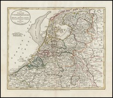 Europe and Netherlands Map By G. Robinson  &  Charles Dilly