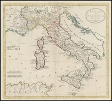 Europe, Italy and Balearic Islands Map By G. Robinson  &  Charles Dilly