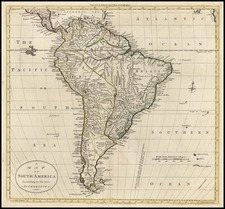 South America Map By G. Robinson  &  Charles Dilly