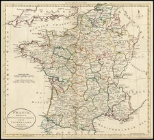 Europe and France Map By G. Robinson  &  Charles Dilly