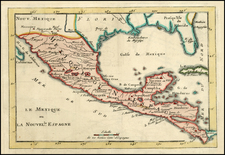 South, Southeast, Texas and Central America Map By Anonymous