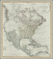 North America Map By Christian Gottlieb Reichard