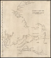 New England Map By Isaiah Thomas  &  Ebenezer T. Andrews