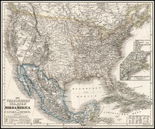 United States, Southwest and Rocky Mountains Map By Heinrich Keipert