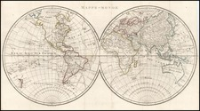World and World Map By Pierre Antoine Tardieu