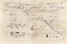 Mexico and Central America Map By Robert Dudley