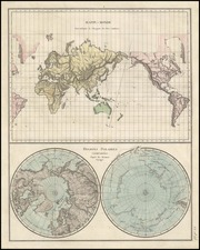 World, World, Polar Maps, Australia & Oceania, Pacific and Oceania Map By Anonymous