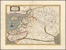 Europe, Asia, Middle East, Holy Land and Balearic Islands Map By Gerhard Mercator
