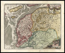 Netherlands Map By Don Francisco De Afferden
