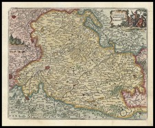 Europe and Germany Map By Don Francisco De Afferden