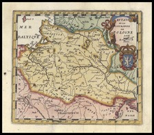 Europe, Poland and Baltic Countries Map By Don Francisco De Afferden