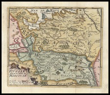 Europe and Russia Map By Don Francisco De Afferden
