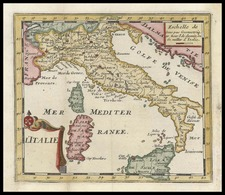 Europe and Italy Map By Don Francisco De Afferden