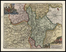 Europe and Netherlands Map By Don Francisco De Afferden