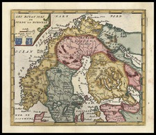 Europe and Scandinavia Map By Don Francisco De Afferden