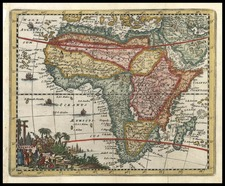 Africa and Africa Map By Don Francisco De Afferden