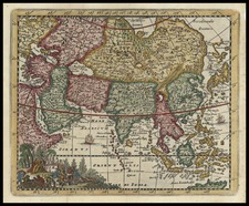 Asia and Asia Map By Don Francisco De Afferden