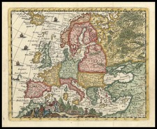 Europe and Europe Map By Don Francisco De Afferden