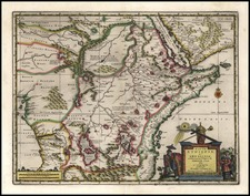 Africa, Africa and East Africa Map By Pieter van der Aa