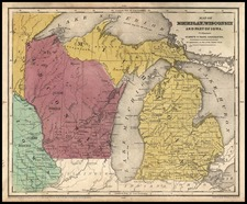 Midwest Map By D.F. Robinson