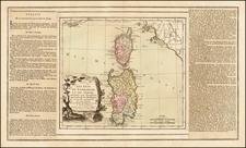 Italy and Balearic Islands Map By Louis Brion de la Tour