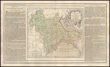 Europe and Italy Map By Louis Brion de la Tour