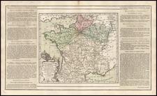 Europe and France Map By Louis Brion de la Tour