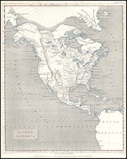 North America Map By Cadell & Davies