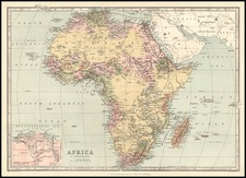 Africa and Africa Map By T. Ellwood Zell