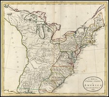 United States Map By William Guthrie / William Darton