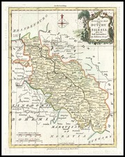 Europe and Poland Map By Thomas Kitchin