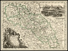 Europe and Poland Map By Georges Louis Le Rouge