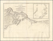 Alaska Map By Capt. George Vancouver