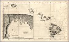 Hawaii, Australia & Oceania and Hawaii Map By James Cook