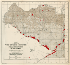 Rocky Mountains Map By United States Department of the Interior / John T. Wertz.
