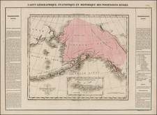 Alaska and Canada Map By Jean Alexandre Buchon