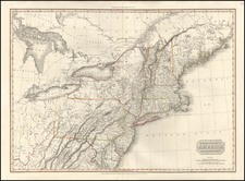 New England, Mid-Atlantic and Midwest Map By John Pinkerton