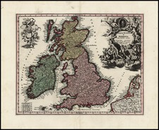 British Isles Map By Christoph Weigel