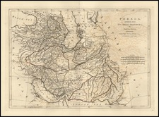 Asia, Central Asia & Caucasus and Middle East Map By Samuel Dunn