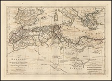 Africa and North Africa Map By Samuel Dunn