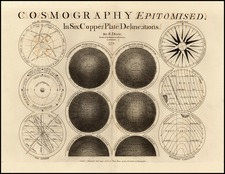 Curiosities and Celestial Maps Map By Samuel Dunn