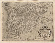 Regni Hispaniae Post Omnium Editiones Locuplessima Descriptio  (Very Rare) By Andreas Schottus