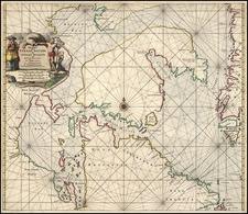 World, Polar Maps and Canada Map By Caspar  Lootsman
