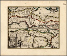 North Africa and East Africa Map By Pieter van der Aa