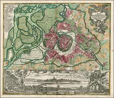 Austria Map By Matthaus Seutter